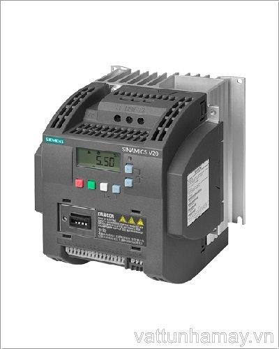 Biến tần V20 3 phase 4kw-6SL3210-5BE24-0UV0