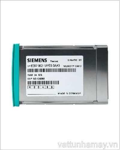 Thẻ nhớ RAM MEMORY CARD 4Mb-6ES7952-1AM00-0AA0