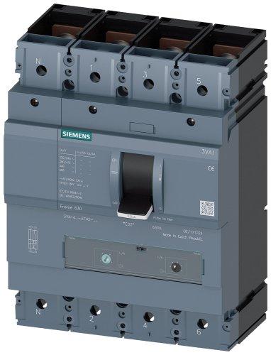 MCCB 3P 1000AF/1000AT 55kA (TM240-3VA1) 3VA1510-5EF32-0AA0-3VA1510-5EF32-0AA0