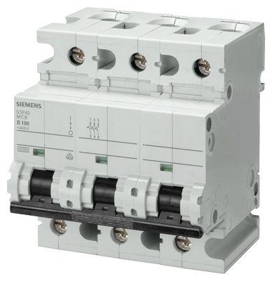 MCB 3P 100A 10KA 5SP4391-7-5SP4391-7