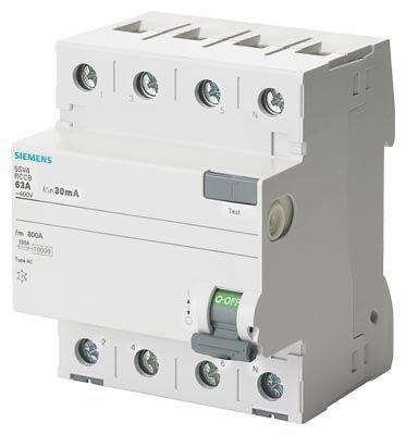 RCCB 4P 40A 30mA 5SV4344-0-5SV4344-0